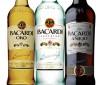 Botellas Bacardi